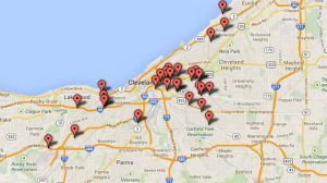 Cameras in CLE Map