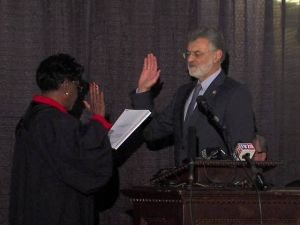Mayor Jackson Sworn In