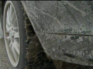 Road Salt on Car