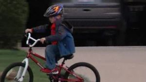 Boy on Cycle