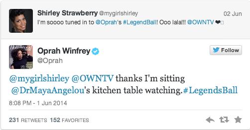 oprah maya tweet