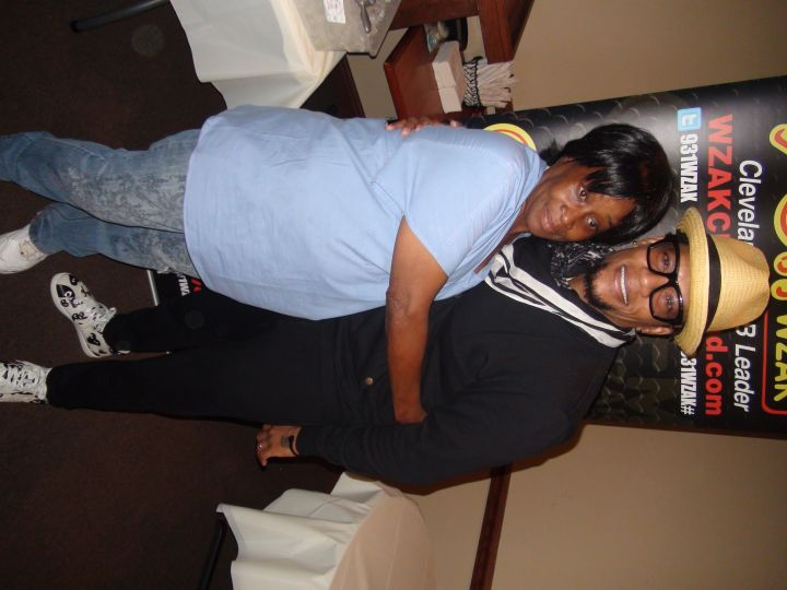 D.L. Hughley at Free Lunch Friday Angie's Soul Food [Photos]