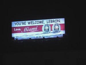 LeBron Billboard