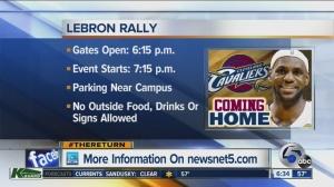 LeBron Rally