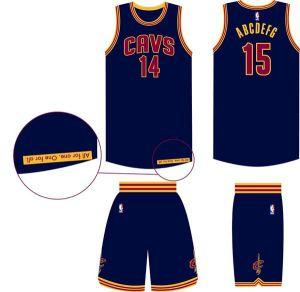 Cavs Uniform