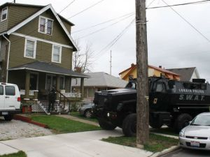 Lorain Police Truck