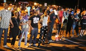 <> on August 13, 2014 in Ferguson, Missouri.
