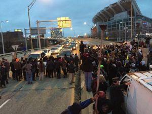 Protest Shoreway
