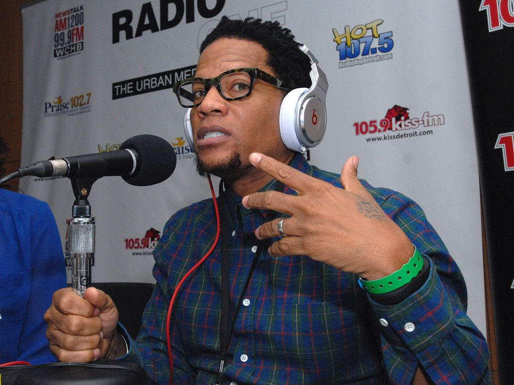'The D.L. Hughley Radio Show' Broadcasts Live At The North American International Auto Show