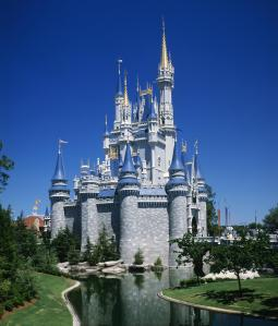Cinderella Castle, Magic Kingdom, Disneyworld, Orlando, Florida, USA