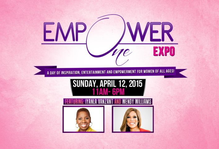 empower one back logo flyer