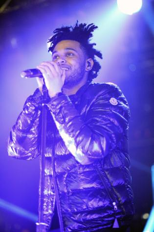 The Weeknd Perform In London