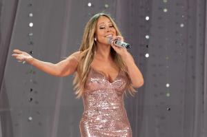 Mariah Carey Performs On ABC's 'Good Morning America'