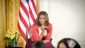 First Lady Michelle Obama meets with children of Executive Office employees at the White Houses annual Take Our Daughters and Sons to Work Day...