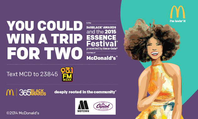 McDonald's Essence Fest Creative 2015