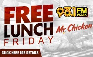 Free Lunch Friday - Mr. Chicken