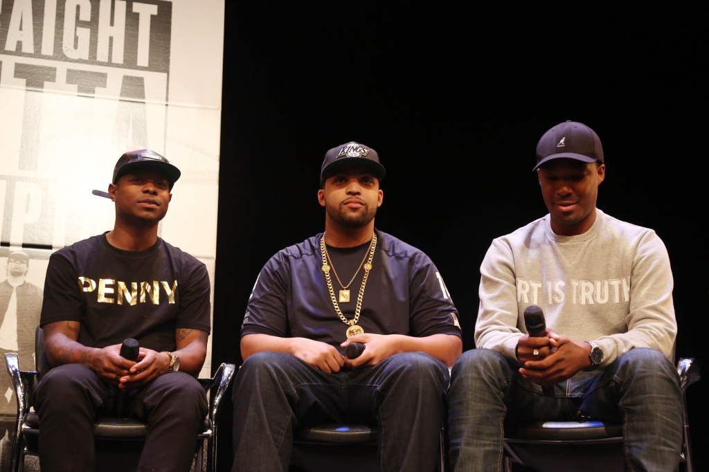 'Straight Outta Compton' New York Screening