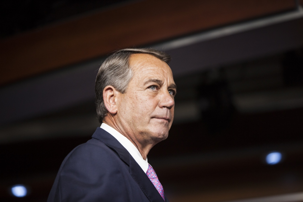 House Speaker Boehner's press conference