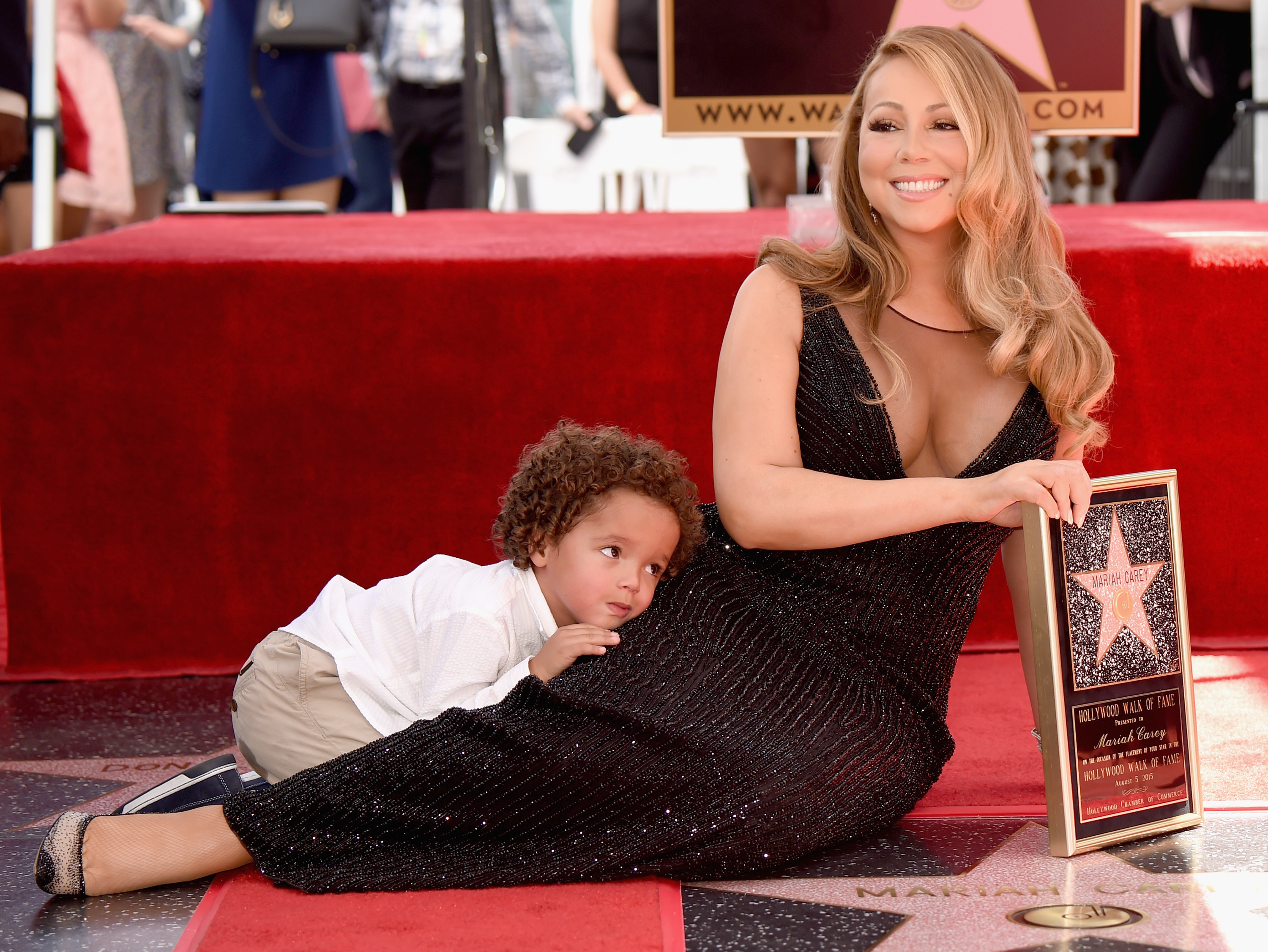 Mariah Carey receives star on the Walk of Fame