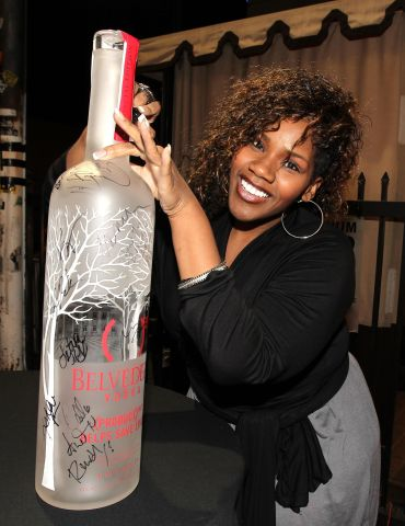 (BELVEDERE) RED Launches With Usher - Red Carpet