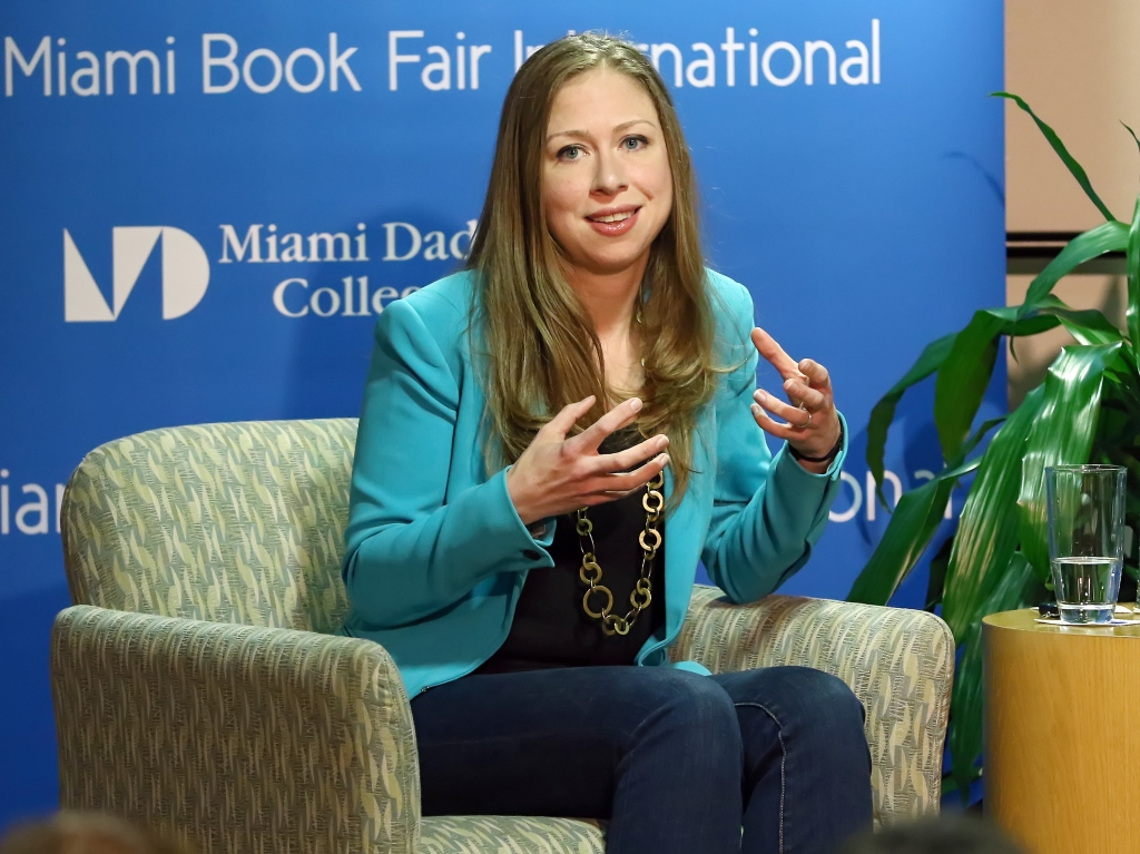 Chelsea Clinton Speaks At Miami Dade College InterAmerican Campus