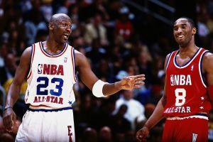 Jordan talks with Bryant