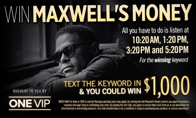 maxwell money
