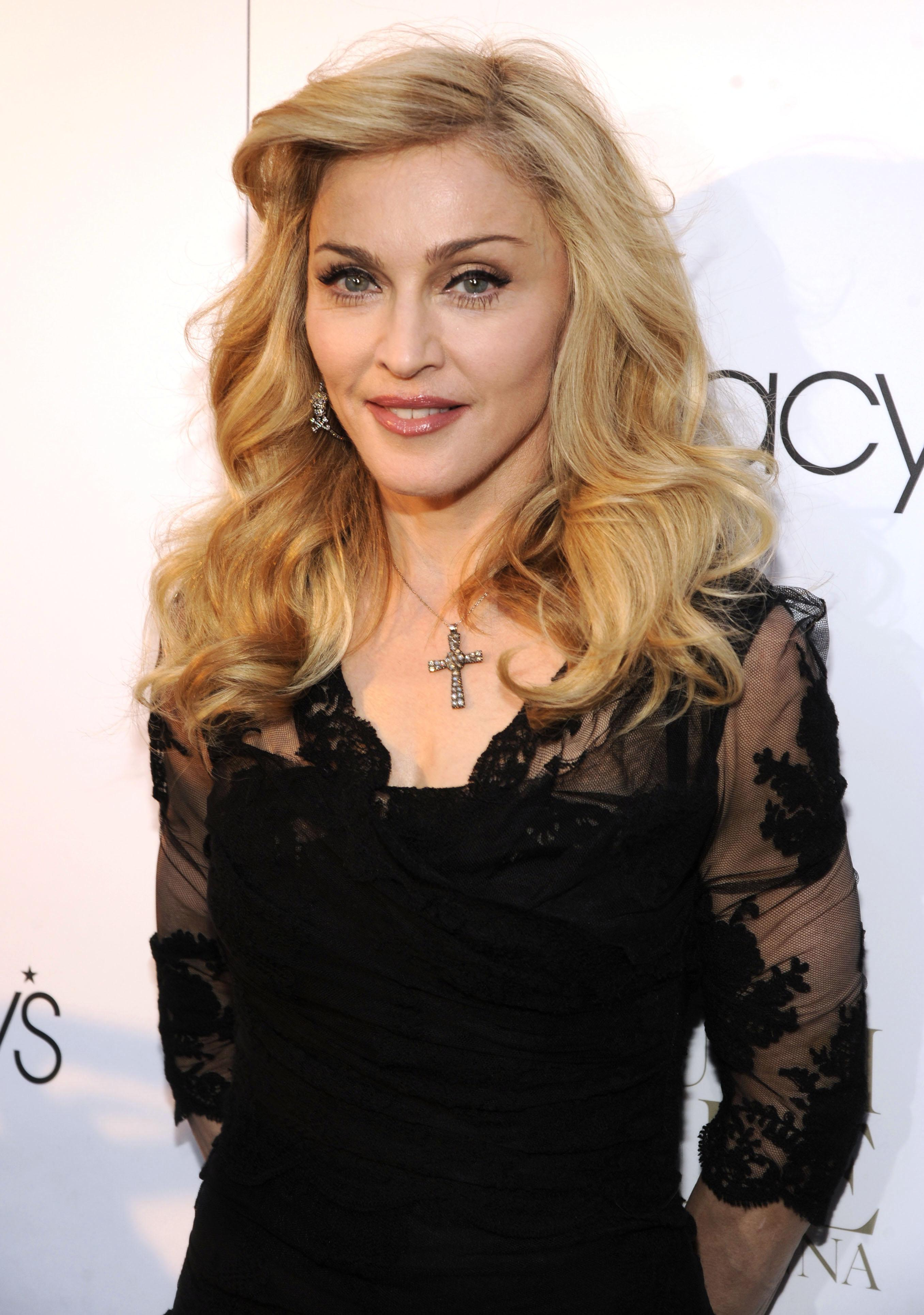 Madonna Launches Her First Signature Fragrance, Truth Or Dare By Madonna In NYC - Red Carpet