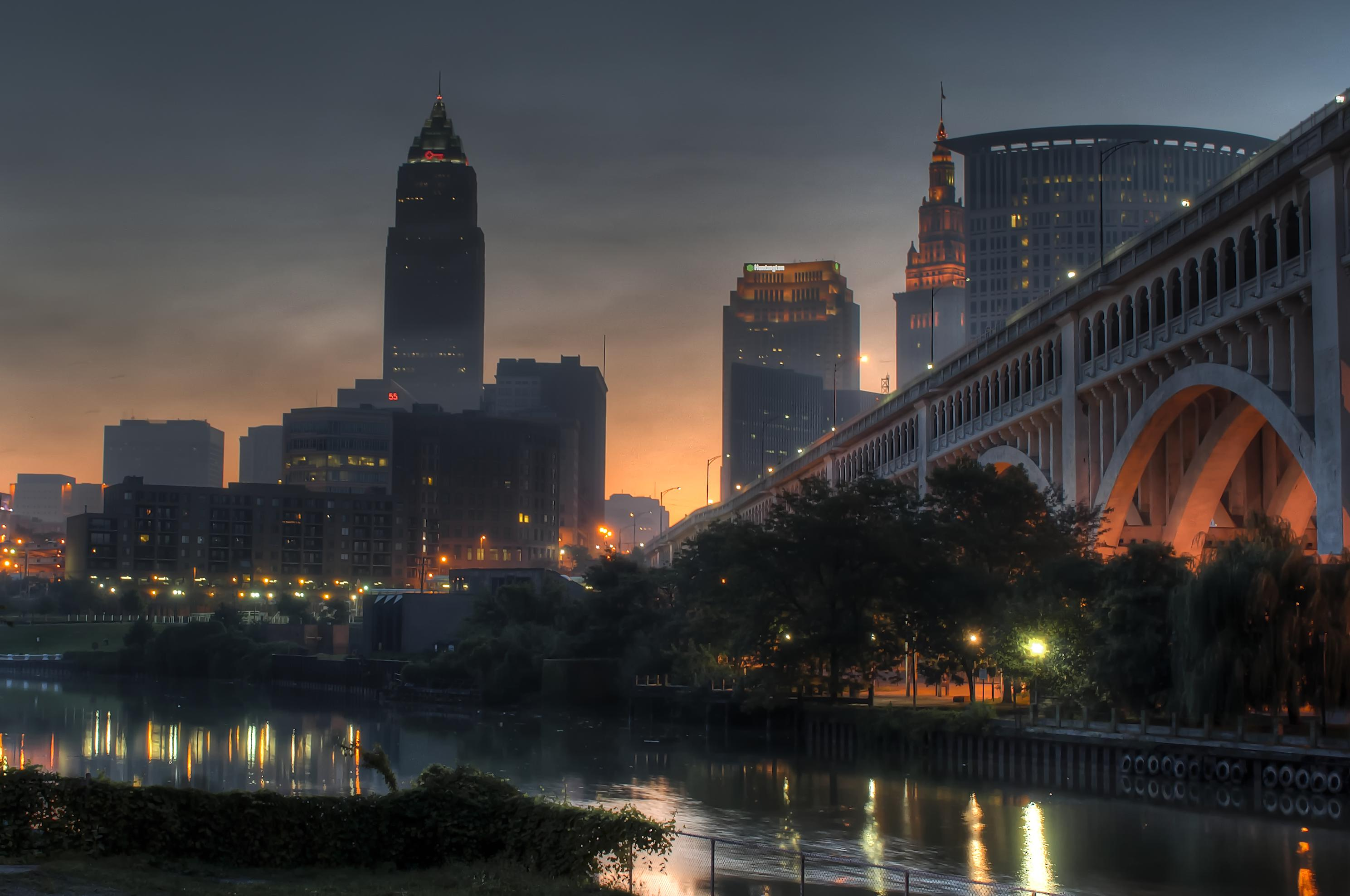 Skyline of Downtown Cleveland, Ohio