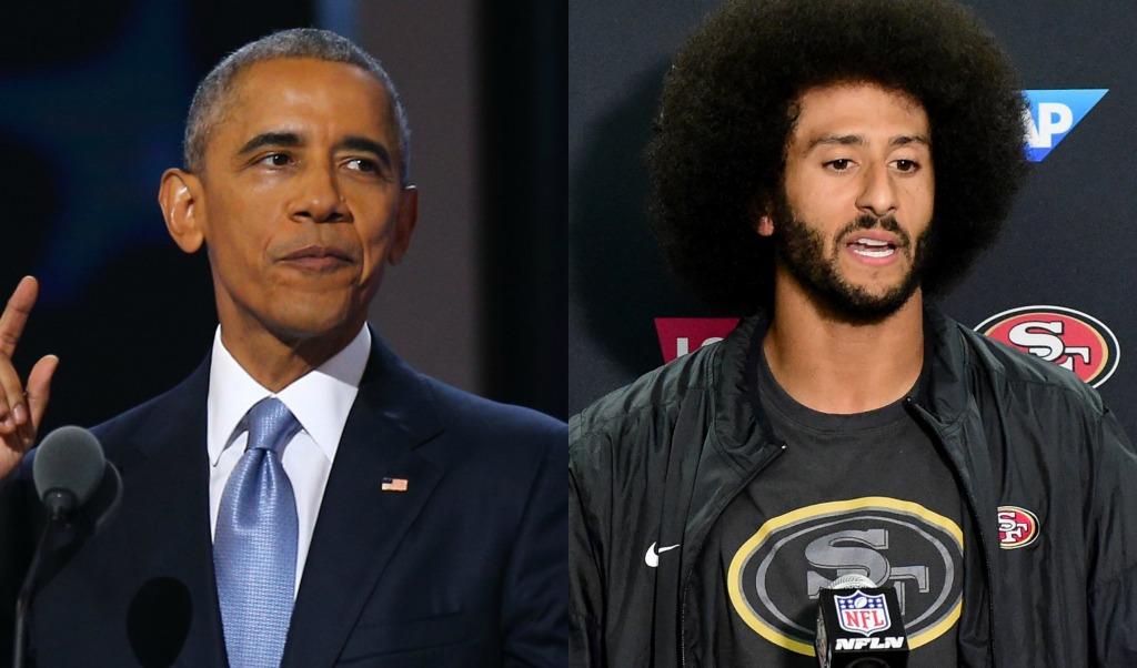 Colin Kaepernick and President Obama