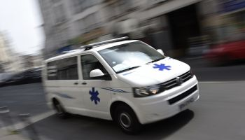 FRANCE-HEALTH-AMBULANCE-PARIS