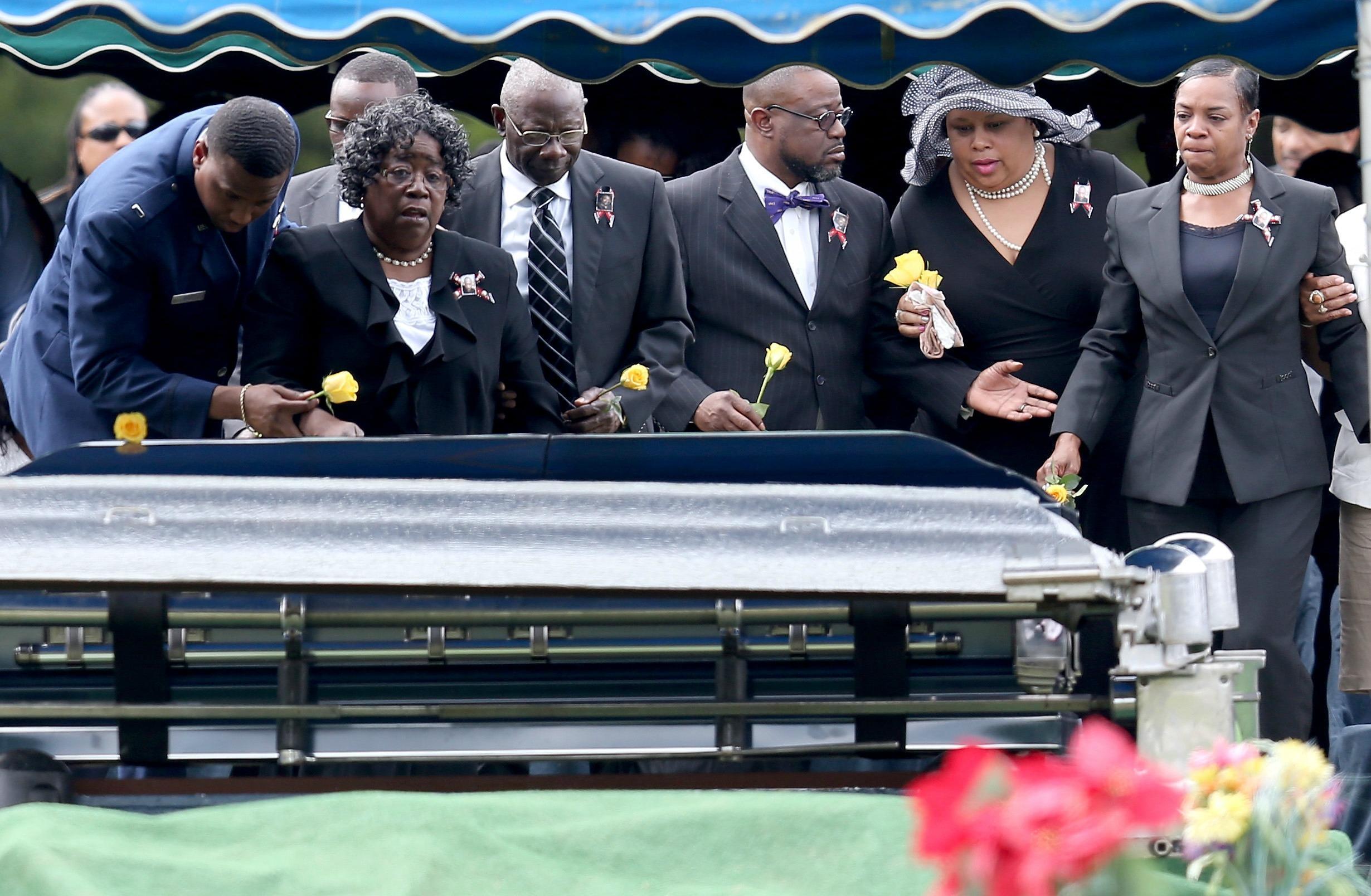 Walter Scott Funeral
