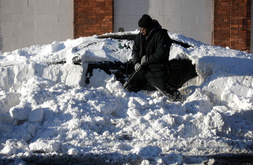 Detroit Area Walloped With Over A Foot Of Snow From Latest Winter Storm