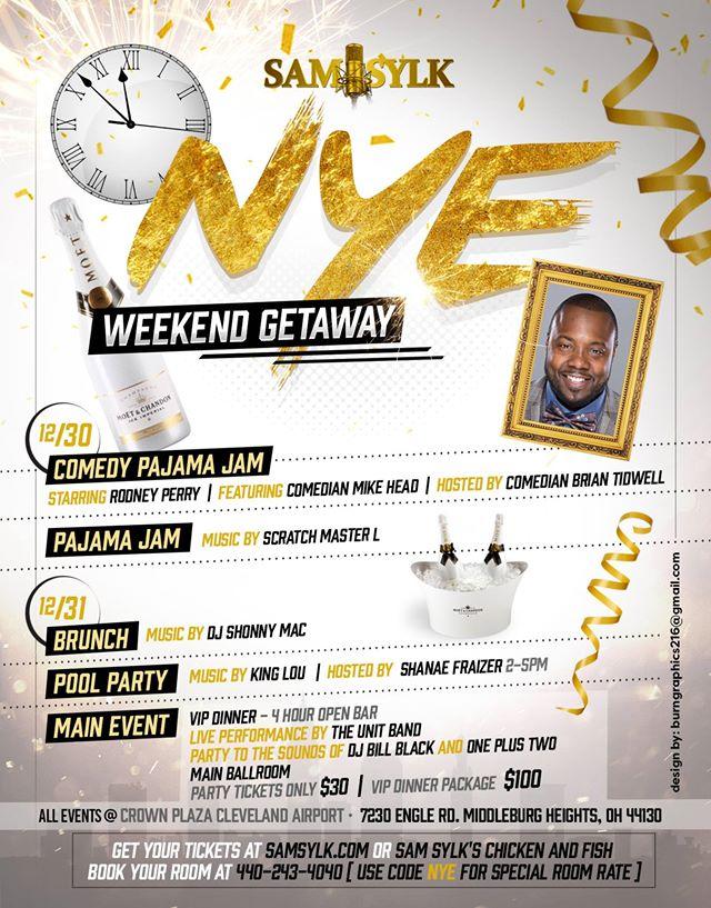 WZAK\'s Sam Sylk New Years Eve Weekend Getaway   93.1 WZAK