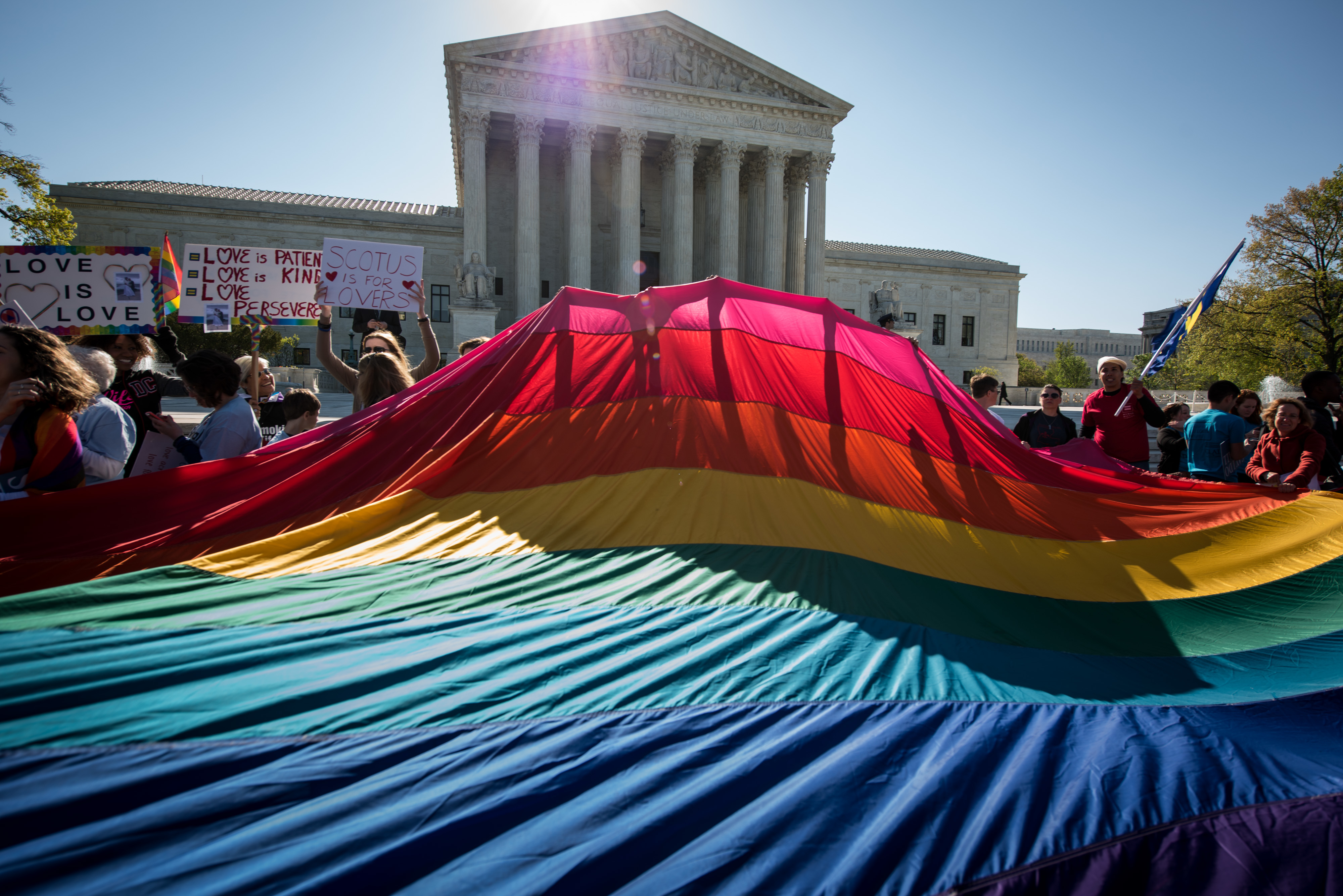 Supreme Court hears oral arguments on Same-sex marriage