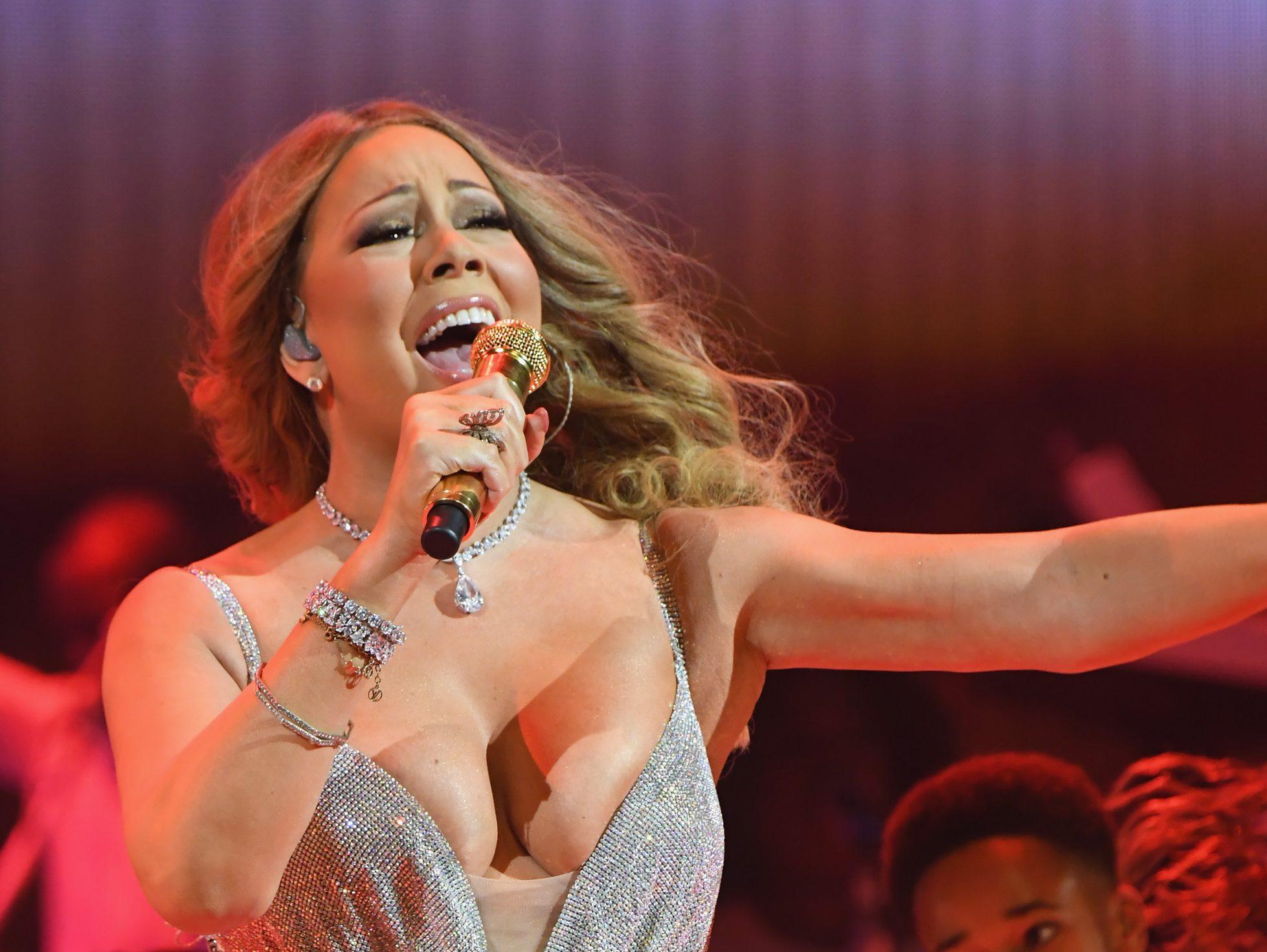 Mariah Carey at Beacon Theatre