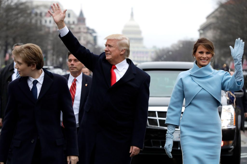 Parade Celebrates Presidential Inauguration Of Donald Trump