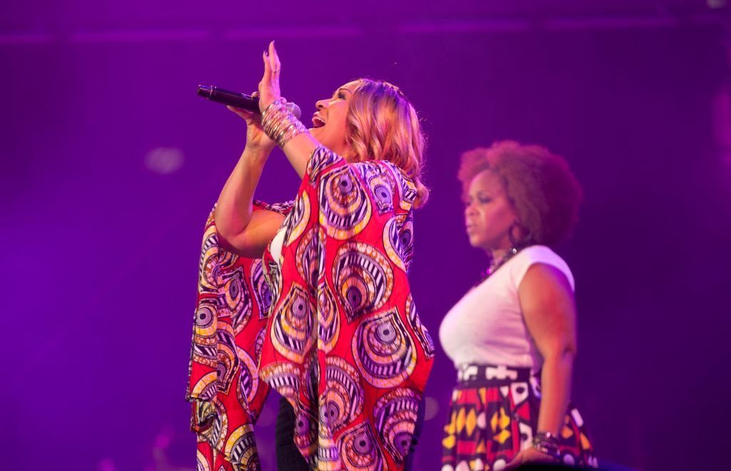 The Essence Festival All Star music concert in South Africa