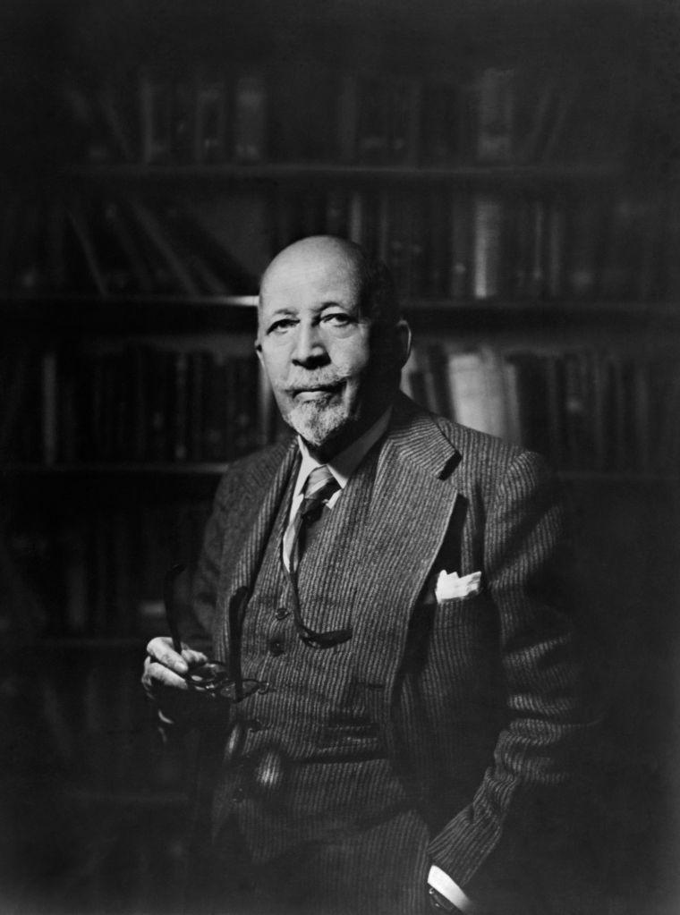 American Writer and Educator W.E.B. DuBois