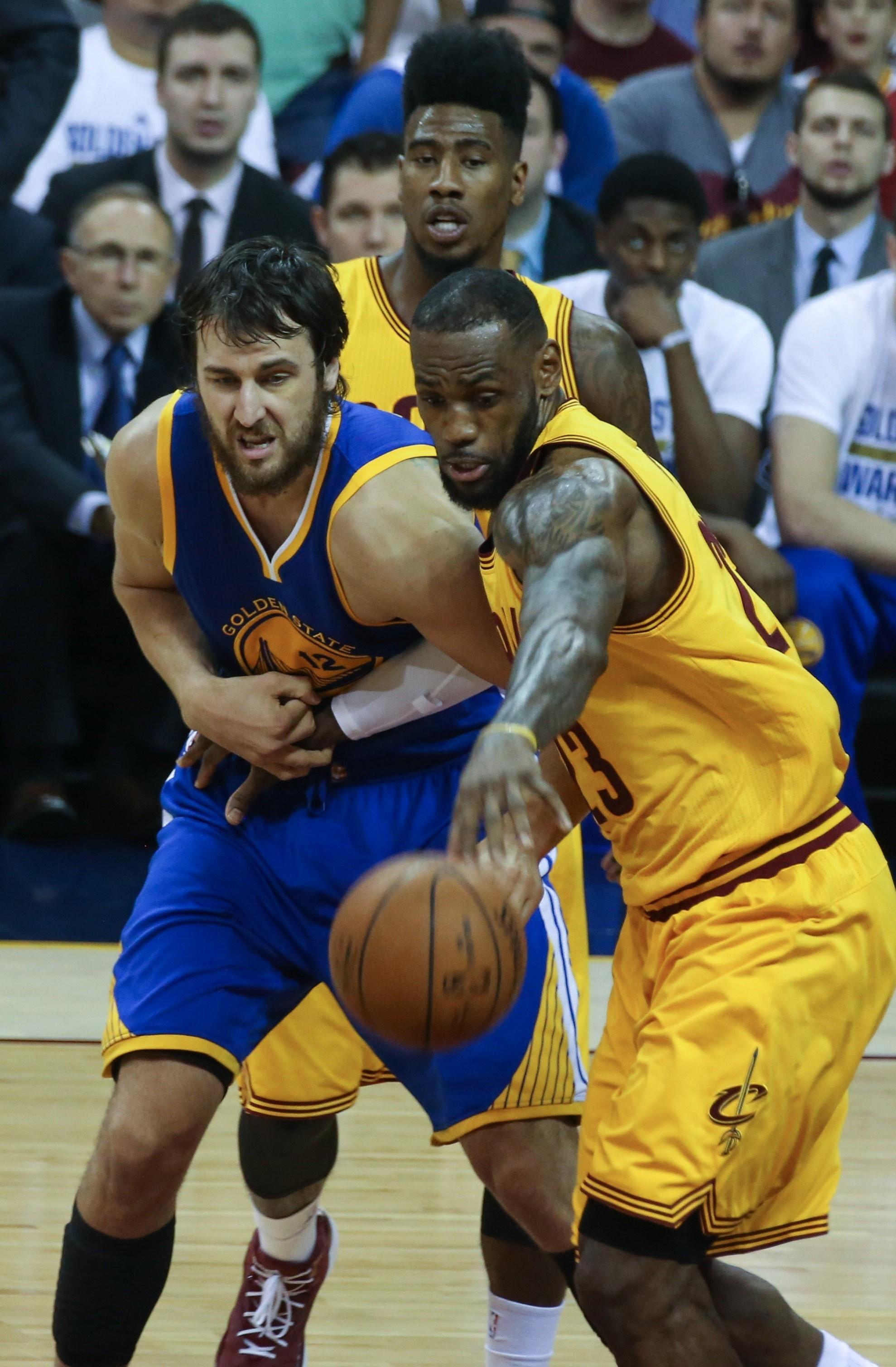Cleveland Cavaliers Vs. Golden State Warriors - 2015 NBA Finals
