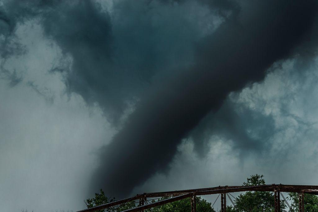 Close up Tornado