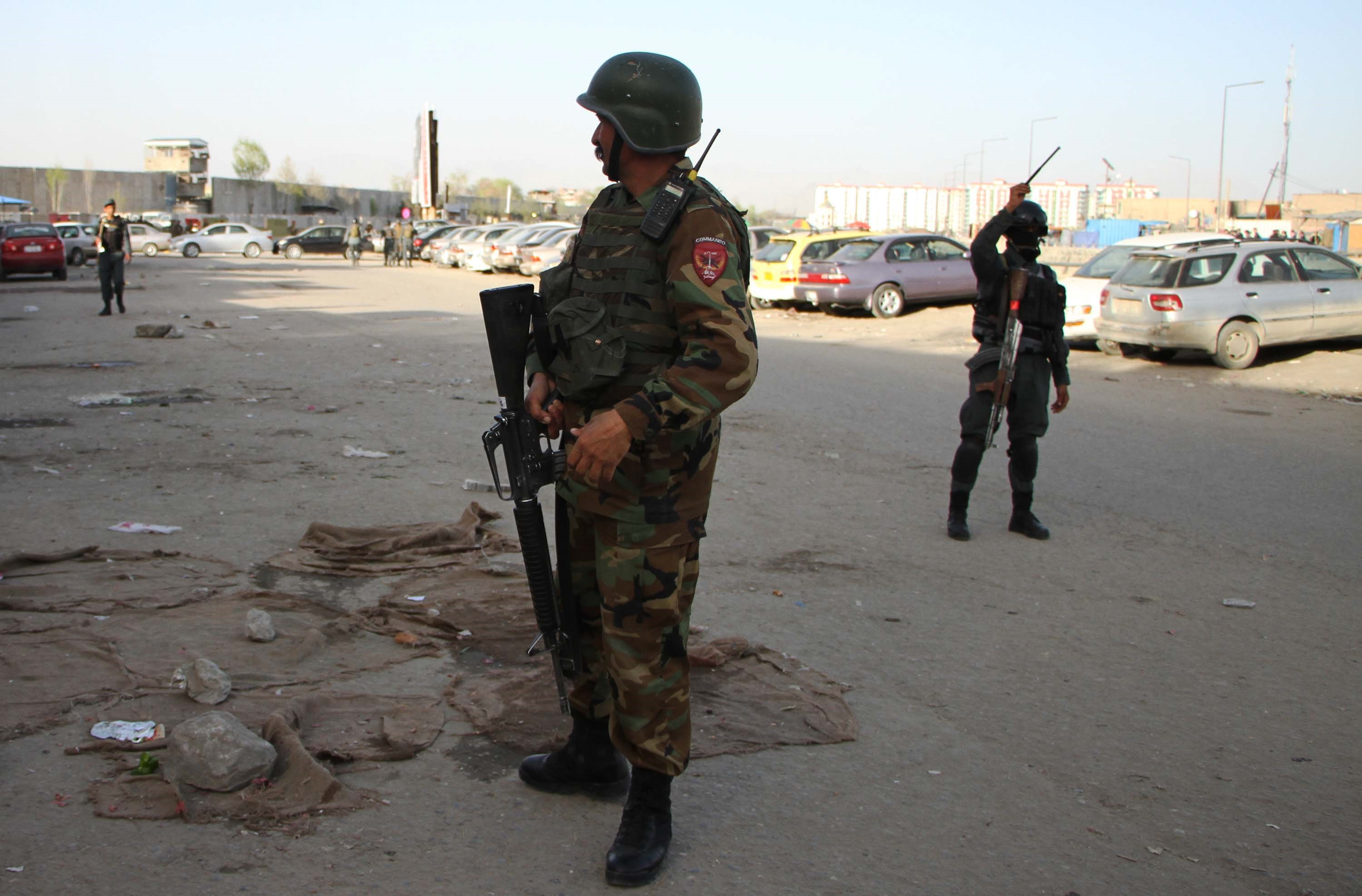 Suicide blast near Afghan presidential palace, five dead