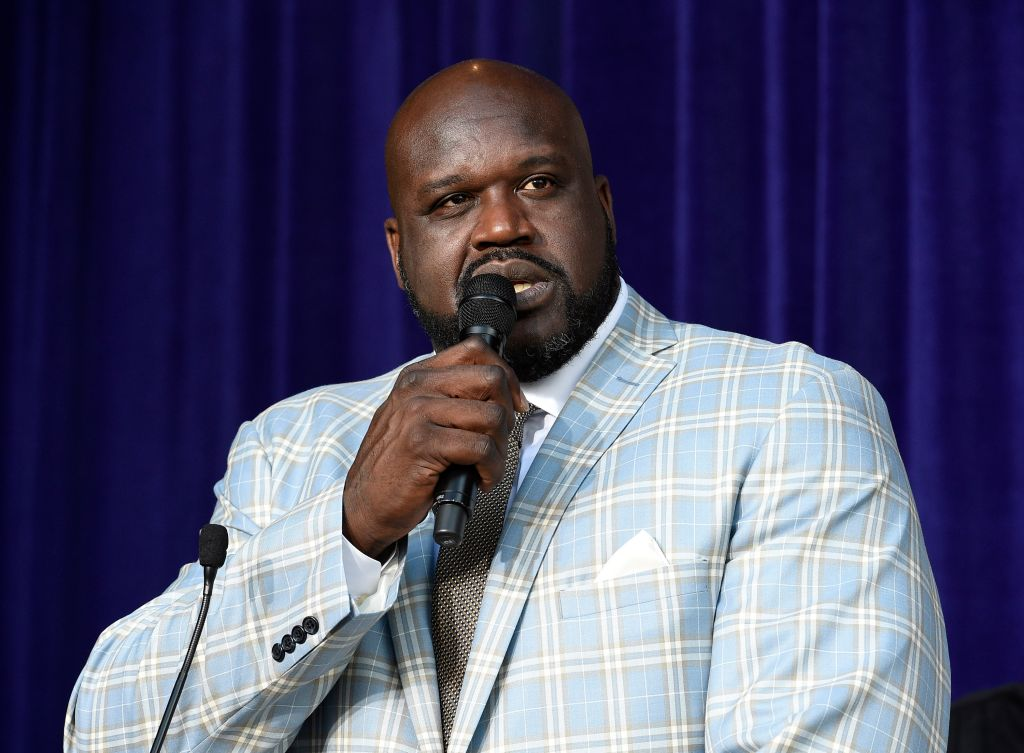 Los Angeles Lakers Unveil Shaquille O'Neal Statue