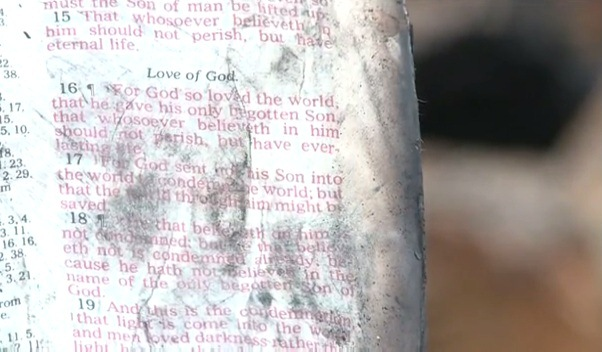 Bible Saved In House Fire