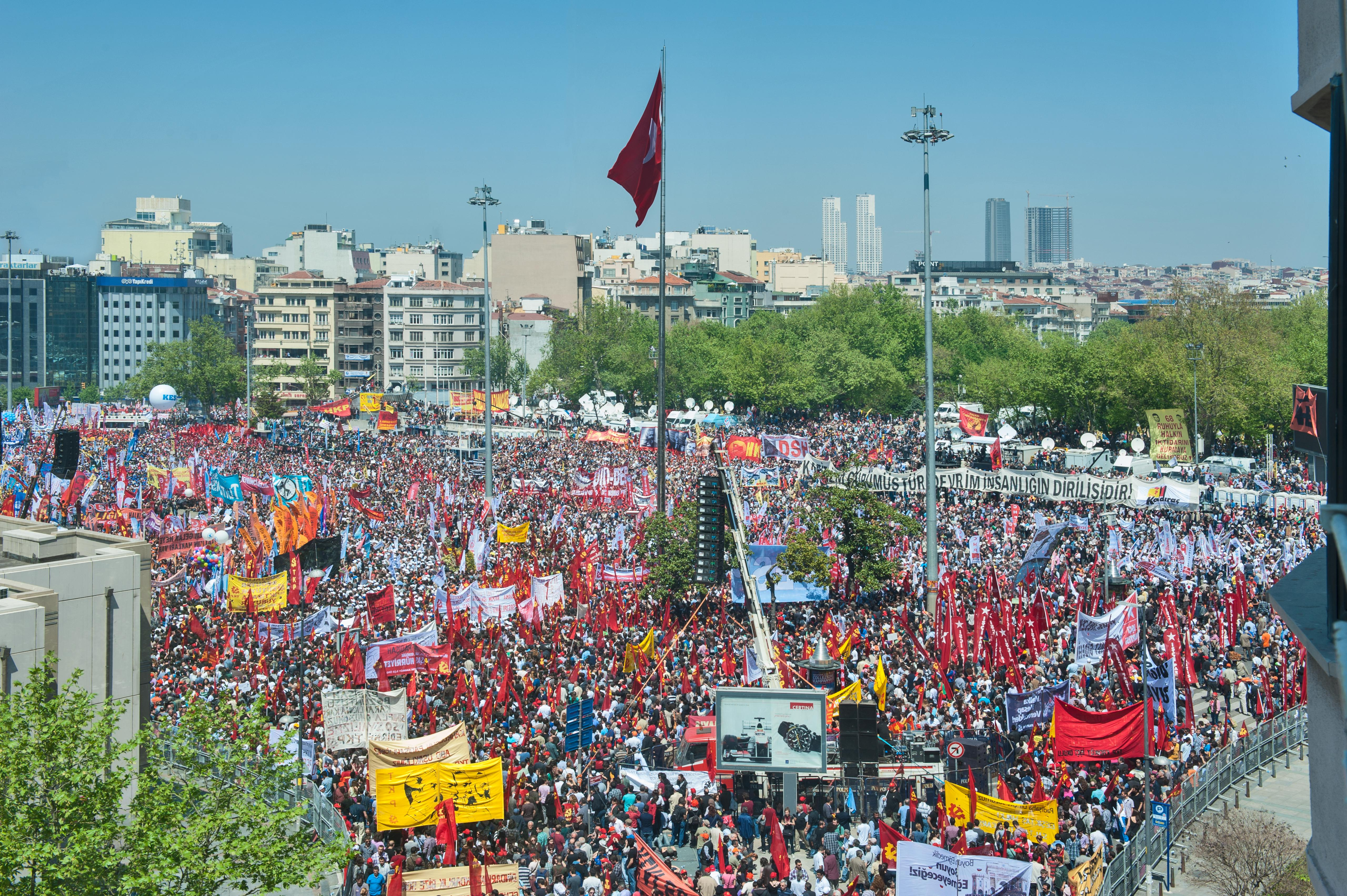 Rally on International Workers' Day