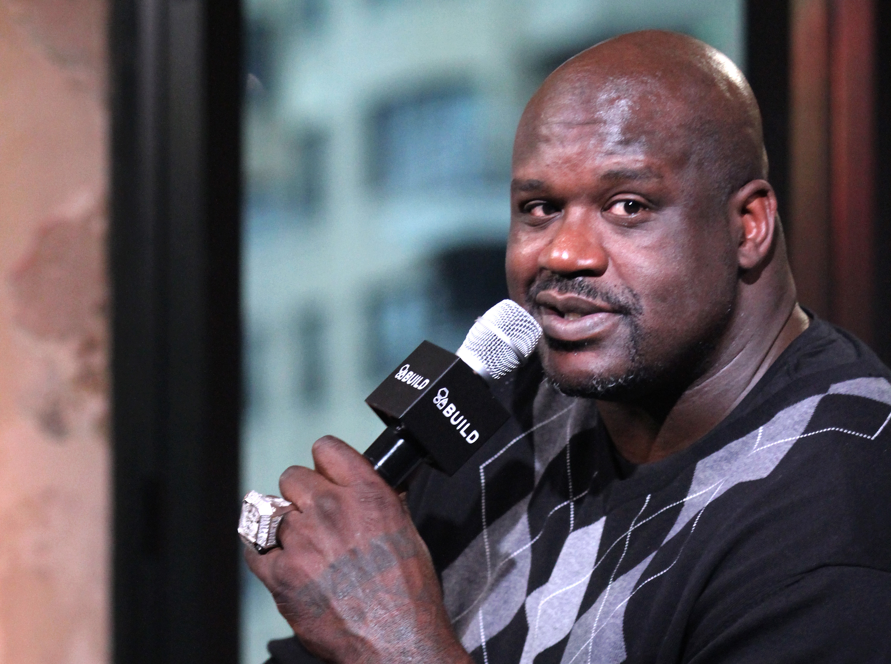 Build Presents Shaquille O'Neal Discussing Toys For Tots