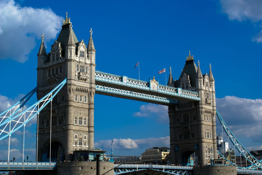 Low Angle View Of Tower Bridge