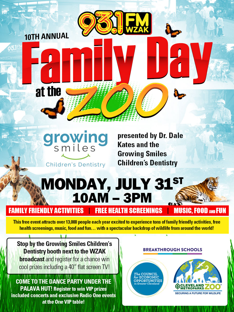 Family Day at the Zoo 2017