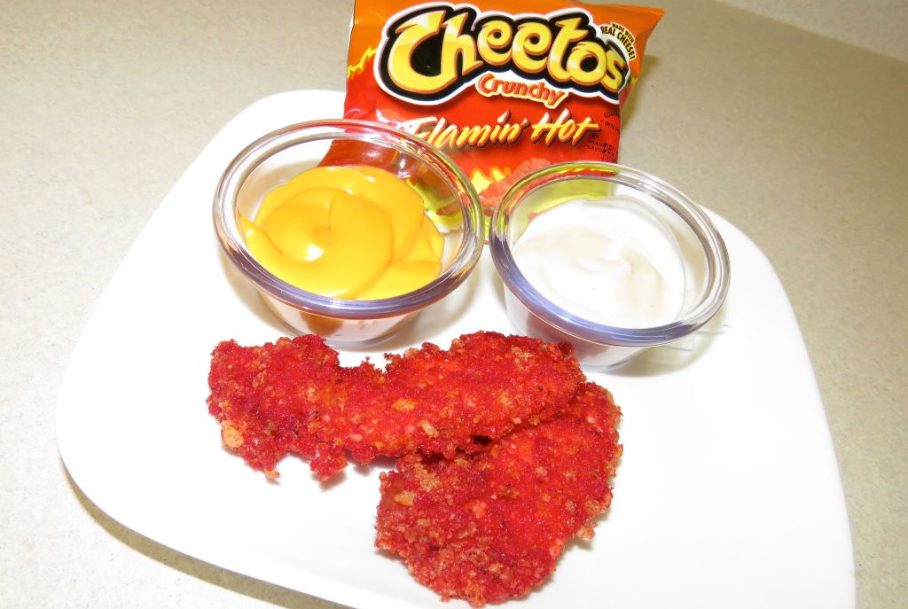 Flamin' Hot Cheetos Fried Chicken Recipe