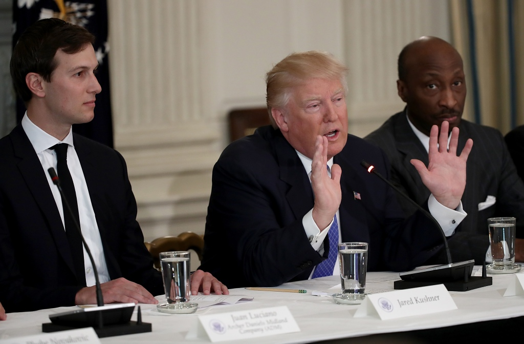 President Trump Holds Listening Session With Manufacturing CEO's